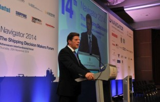 14ο ναυτιλιακό συνέδριο «Navigator 2014 - The Shipping Decision Makers Forum»